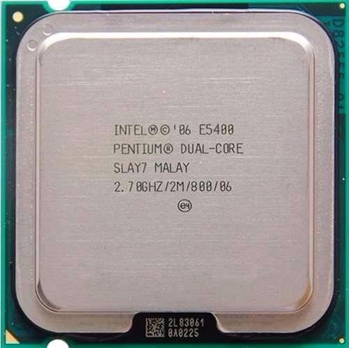 Processador Intel Dual Core E5400 2.70ghz/2m/800mhz Lga 775