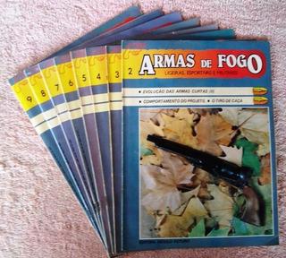 Revistas Armas De Fogo Nº 2 Ao 9 - Lote C/ 8 - Frete Grátis