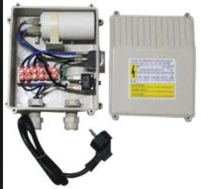 Caja De Control Para Bomba Sumergible Antarix 1/2 Hp