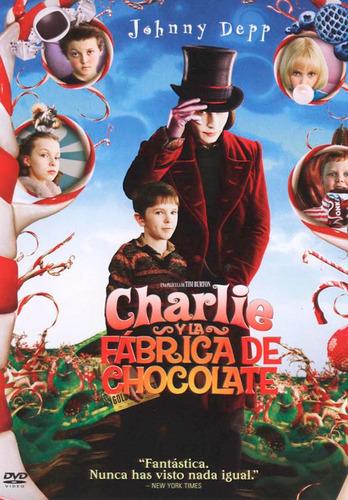 Dvd Charlie Y La Fabrica De Chocolate - Tim Burton / Deep