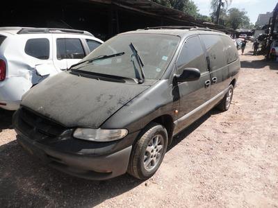 Sucata Chrysler Grand Caravan 3.3 Motor / Caixa / Lataria
