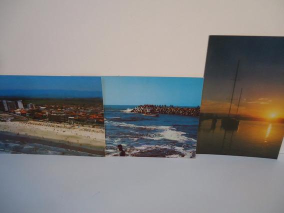 Lote - Torres (rio Grande Do Sul) 3 Cartões Postais