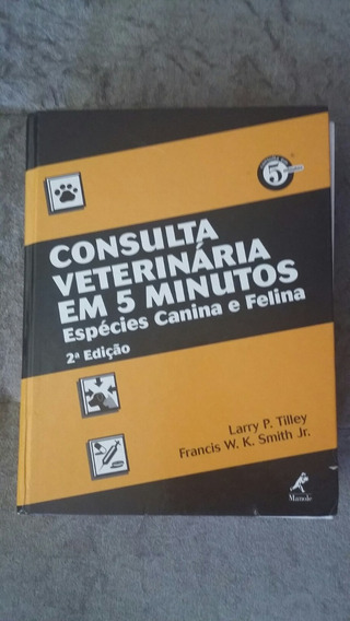 Consulta Veterinaria Em 5 Minutos - Livro