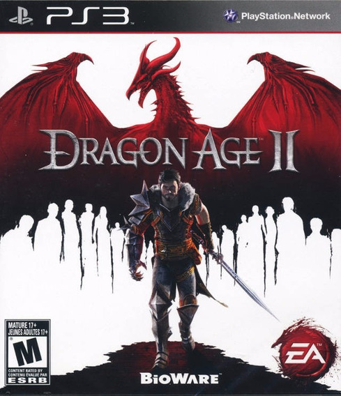 Jogo Dragon Age 2 Ii Playstation 3 Ps3 Mídia Fisica Rpg