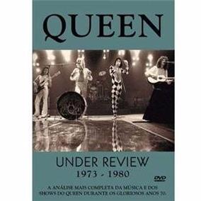 Dvd Queen Under Review 1973 - 1980 - Dvd Raro