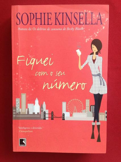 Livro - Fiquei Com O Seu Número - Sophie Kinsella - Seminovo