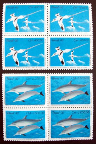 Fauna Brasil - Serie Cuadros Sc 2352-3 Delfines Mint L4372