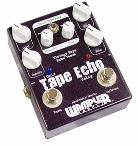 Pedal Wampler Faux Tape Echo Delay - Tc Electronic, Mxr