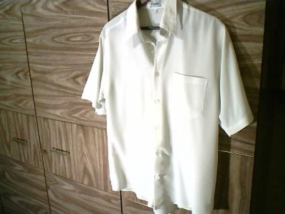 Camisa Branca Casual ( Marca Priorite - Tamanho M )