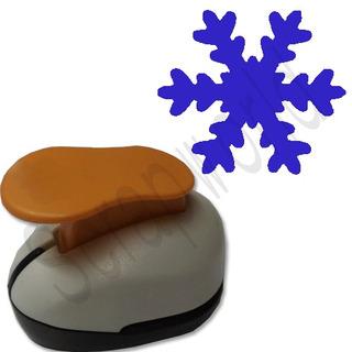 Furador Scrapbook Eva Floco De Neve Corte 1,5cm Frozen