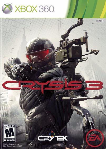 Xbox 360 - Crysis 3 Usado