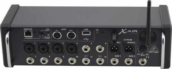 Mesa De Som 12 Canais Behringer Xr12 Air Tipo Mesa X32 Wifi