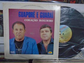 Lp - Guaporé E Guaraí / Coração Roxinho / Tocantins / 1989