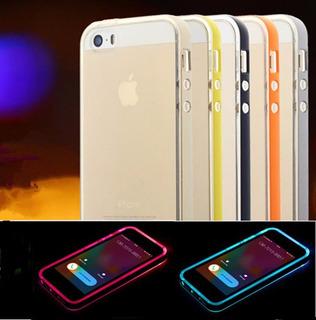 Case Flash Led iPhone 4 4s 5 5s 6 6s 6plus 6splus Galaxy S6