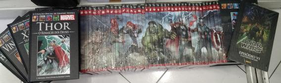Coleção Salvat Graphic Novels Marvel Capa Vermelha 37 Hqs