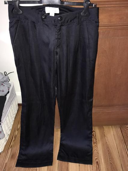 Pantalón Jazmin Chebar T 3 Seda Y Poliamida Impecable