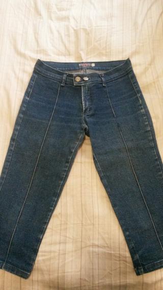 Calça Jeans Corsário Feminina Tamanho 40