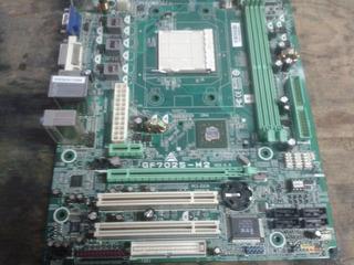 Motherboard Biostar Gf7025-m2 Ver. 6.0 No Funciona P/ Reptos