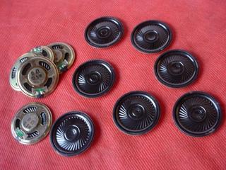 Lote 250 Alto Falante 36mm 0.5w 8ohm Speaker Arduino Audio