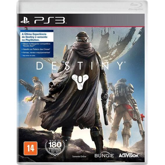 Destiny Ps3 Original Completo Todo Em Português Mídia Física