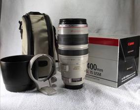 Lente Canon 100 400mm Zerada