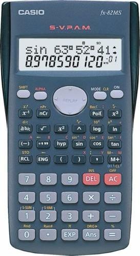 Kit 4 Calculadora Cientifica Casio Fx 82ms Lacrado Original