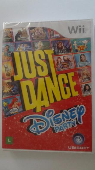 Just Dance Disney Party Nintendo Wii Física - Novo E Lacrado