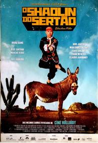 Cartaz Original De Cinema - O Shaolin Do Sertão