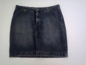 Saia Jeans Feminina Preta Damyller - Tam. 42 - Barata