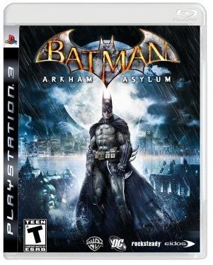 Jogo Batman: Arkham Asylum Para Playstation 3 (ps3)