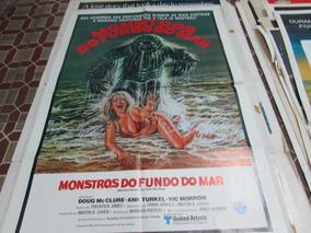 Cartaz Altamente Decorativo Filme Monstros Do Fundo Do Mar!!