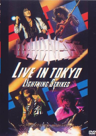 Dvd Loudness Live In Tokyo Lighning Strikes