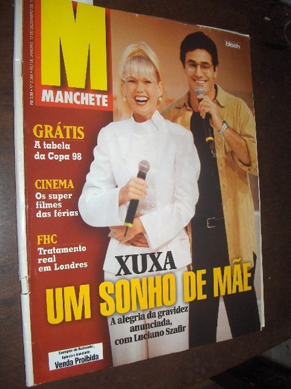 Revista Manchte 1997 Xuxa Navio Minas Gerais
