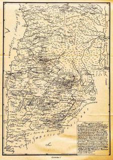 Lienzo Tela Mapa Michoacán Reino Caltzontzin Siglo 16 72x50