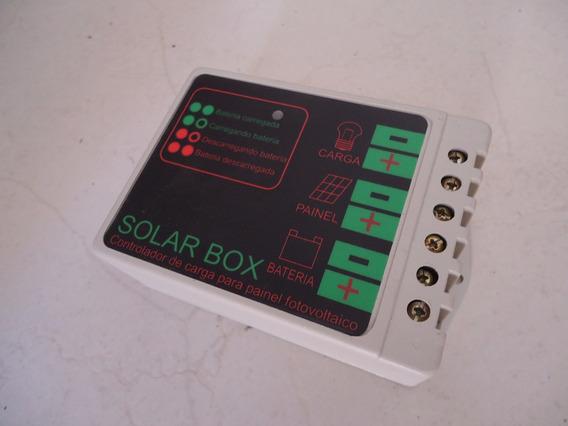 Controlador De Carga Bateria 12v / 24v 10a Energia Solar