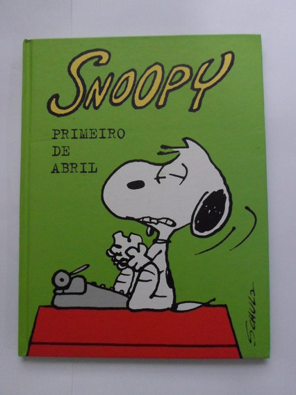 Hq Snoopy Primeiro De Abril Capa Dura