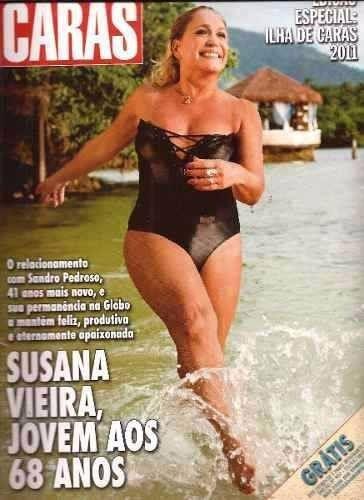 Revista Ilha De Caras 2011 - Susana/ellen Roche/cris Vianna
