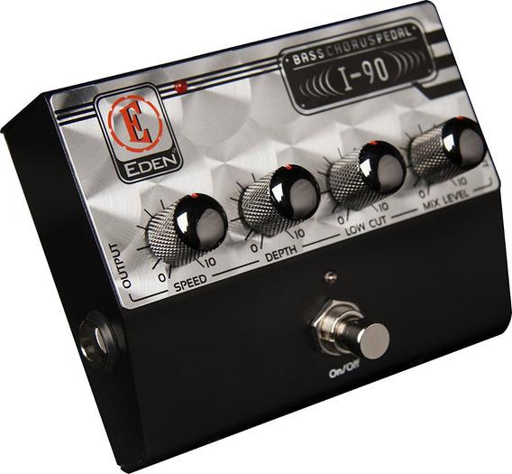 Pedal P/ Contra Baixo I90 Bass Chorus - Eden + Nf + Garantia - Com Nota Fiscal E Garantia De 2 Anos Proshows!