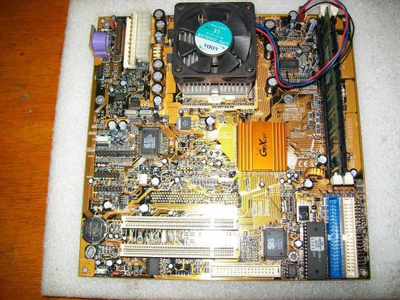 K649 Kit Gfxcell P3 370 667mhz Pc133 128mb C/rabichos