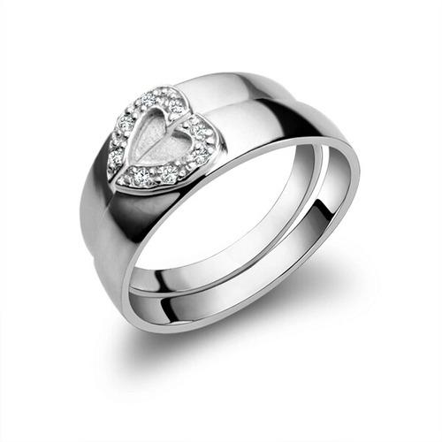 Anillos Alianzas Parejas Matrimonio Boda Amor Plata Oro 18k