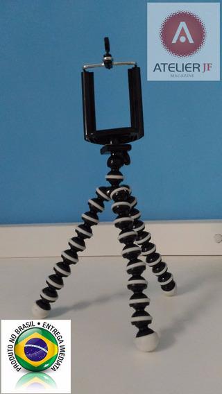 Tripe Flexível+ Holder iPhone Galaxy Lg Nokia Camera Digital