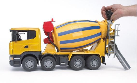 Juguetes Bruder Scania R-series Cement Mixer Truck