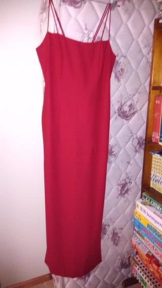 Vestido Rojo Importado New York