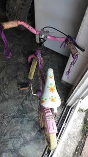 Bicicleta Rodado 12 Violeta