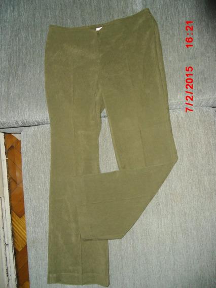 Pantalon Zara Importado Tipo Gamuza