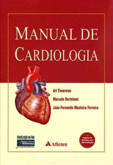Manual De Cardiologia Timerman Livro Novo Cirurgia Medicina