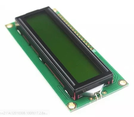 Tela Display Lcd 16x2 1602a Backlight Verde