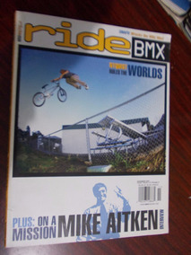 Ride Bmx - Plus: On A Mission Mike Aitken. Nyquist Rules The