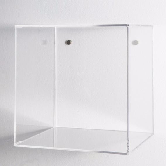 Nicho Transparente 35x35x20cm Acrílico Resistente