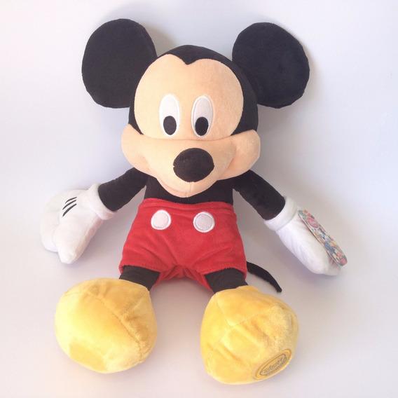 Mickey Mouse Original Grande 42cm Pelúcia Disney Festa Rf436
